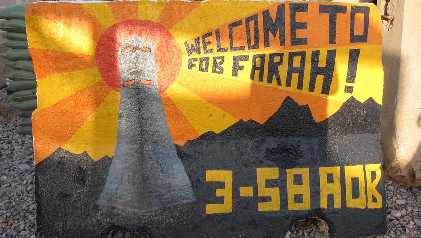 FOB Farah Jersey Barrier