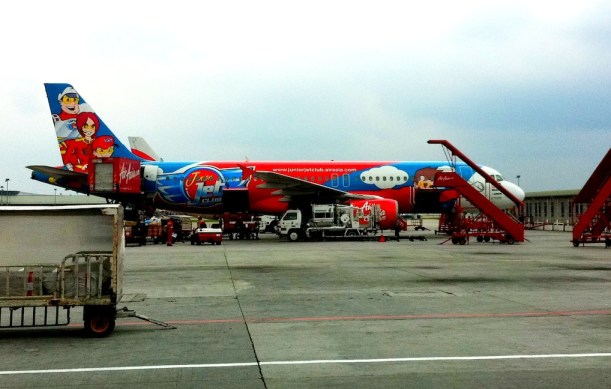 Very Fobby Air Asia Plane