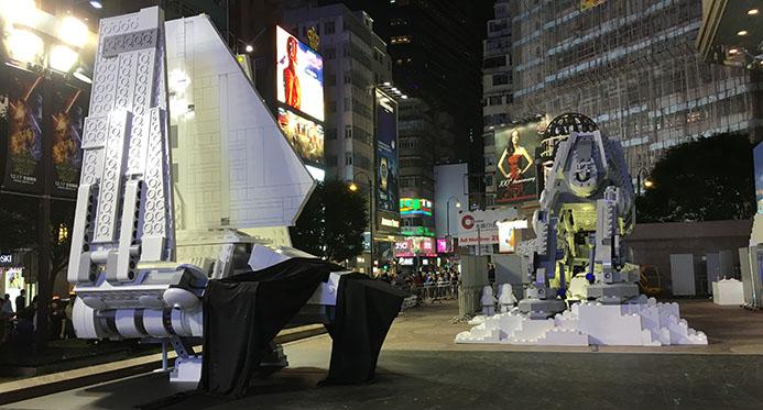 Giant Lego Shuttle Tydirium
