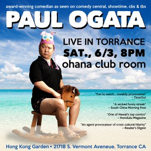 Paul Ogata in Torrance @ Ohana Club Room at Hong Kong Garden | Torrance | California | United States
