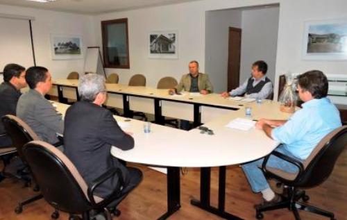 Reunião de trabalho entre a diretoria da Copasa  e o Deputado Paulo Guedes