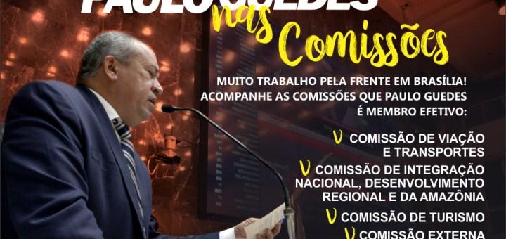 Deputado Federal Paulo Guedes é membro titular de quatro comissões da Câmara