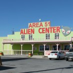 What kind of person crosses the Nevada desert to investigate UFO conspiracies?