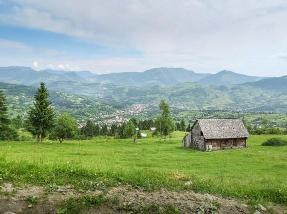 Borșa mountain bike