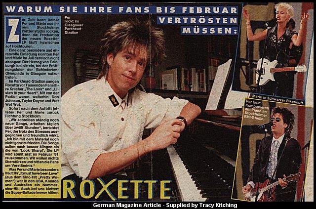 Bagi yang ingin selalu menang di pasaran ini kalian berada di situs yang. Roxette On-line : International Magazine Article Archive
