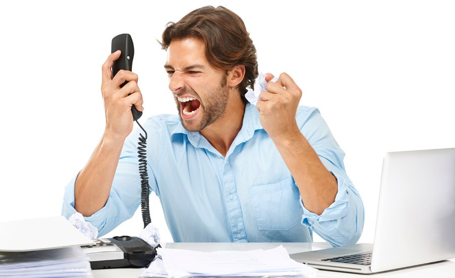 The Last LAUGH: How To Deal With An Irate Customer