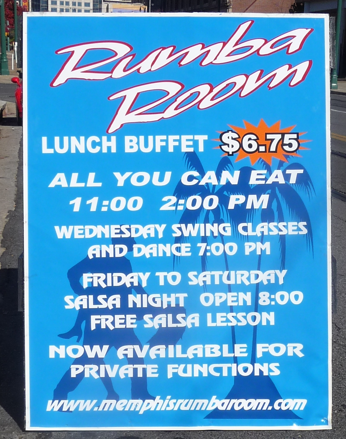 Excellent Lunch Buffet At Rumba Room Trolley Info For