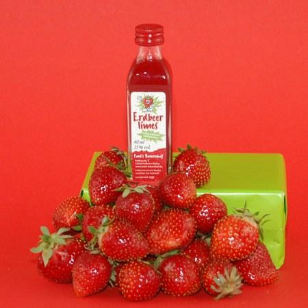 Erdbeerlimes 40ml