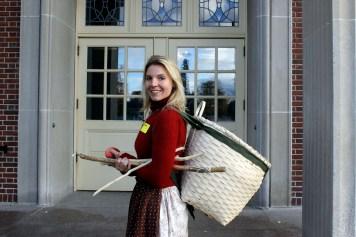 Osgood Pond Semester instructor Bethany Garretson.