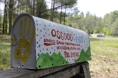 Osgood Farm mailbox.