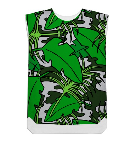 Jungle Fog Shift Dress