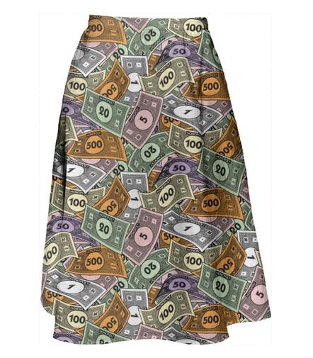 Pay Day Midi Skirt PAOM Paul S OConnor