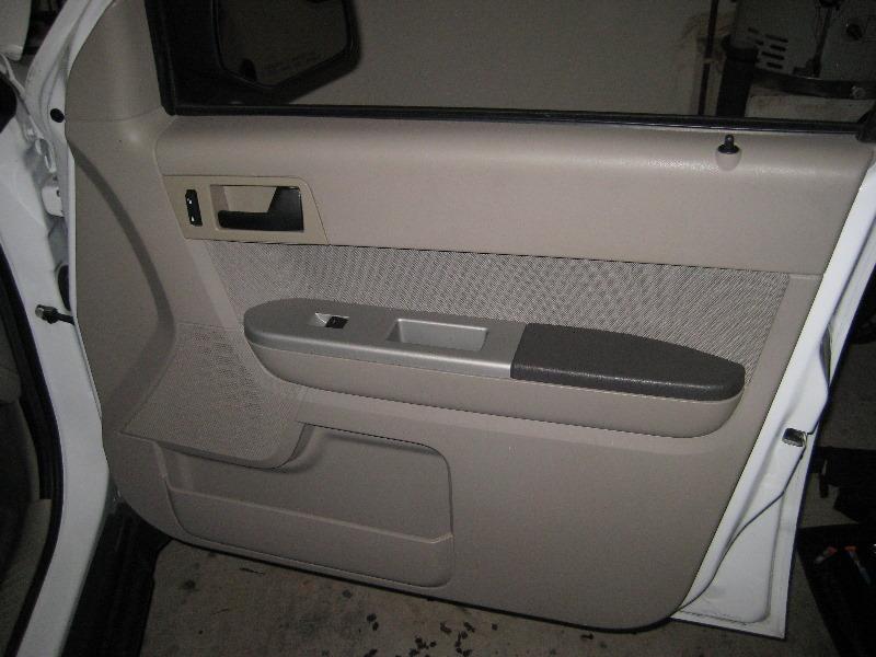 Ford Escape Interior Door Panel Removal Guide 048