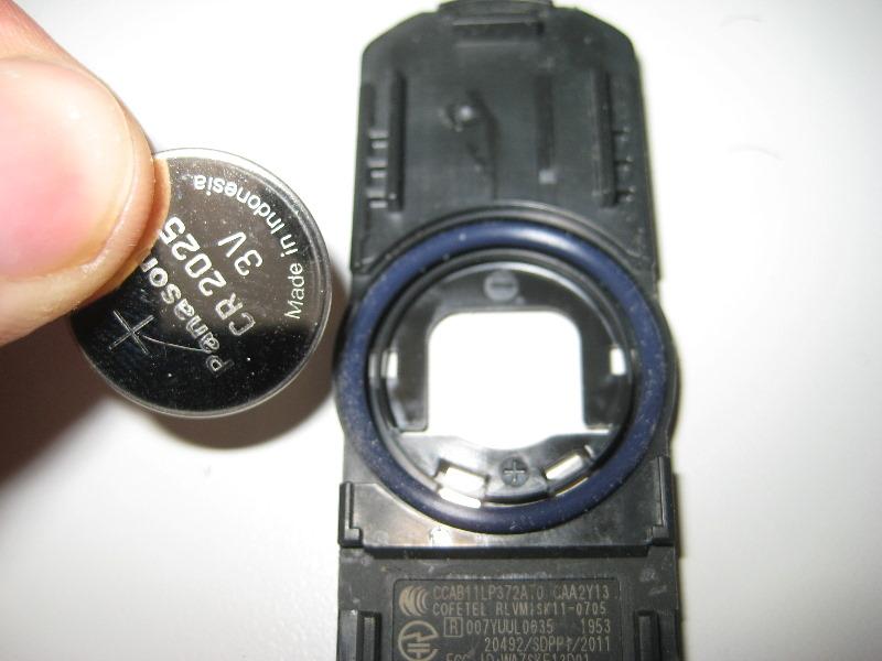 Mazda cx 5 key battery