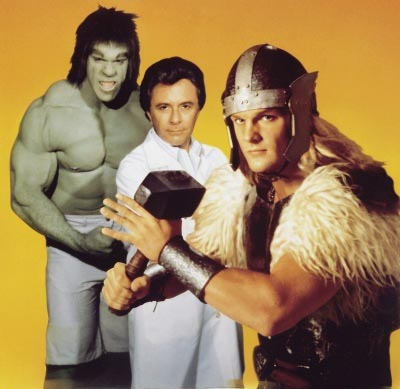 This is the best that Hollywood used to be able to make our heroes look. With the incredible power of Hollywood behind us, the best we could come up with was cosplay that makes me feel a bit uneasy.