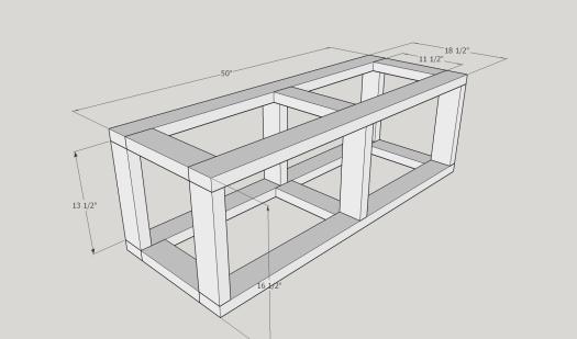 Kitchen Nook Storage Bench Diy Paul Tran