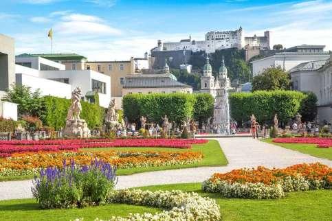 Oostenrijk Salzburg Mirabelltuin