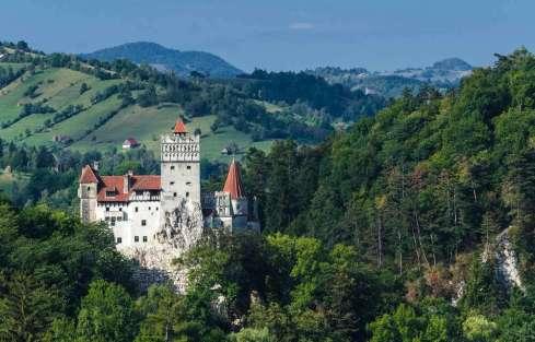 Roemenie Bran kasteel