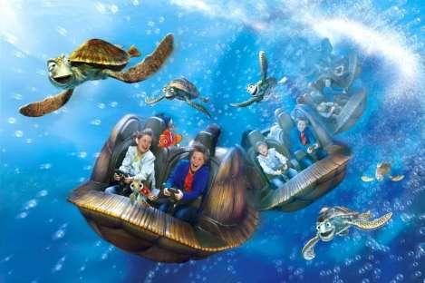 Onderwater in Disneyland Parijs
