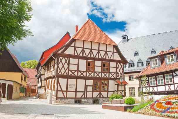 Das Schiefe Haus von Wernigerode am Harz