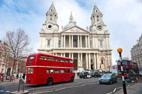 Busreis Londen: St. Paul
