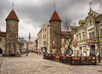 Estland Talinn binnenstad