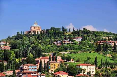 Italie Verona heuvel