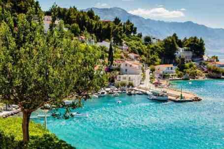 Kroatie Split baai