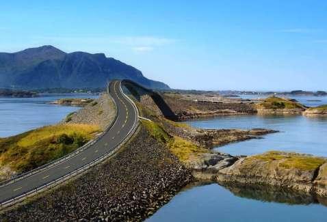 Noorwegen Atlantische kustweg