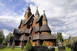 Noorwegen Heddal Staafkerk