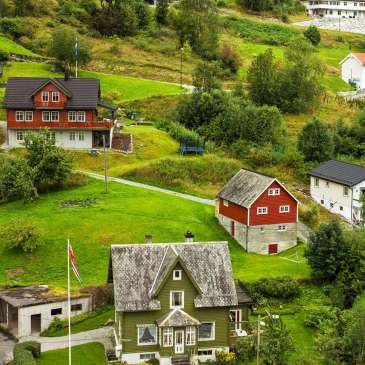 Noorwegen huizen