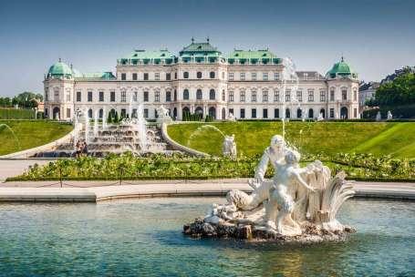 Oostenrijk Wenen Belvedere