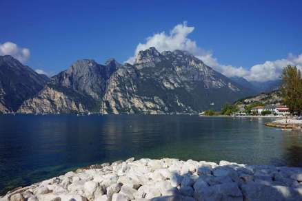italie Garda meer panorama