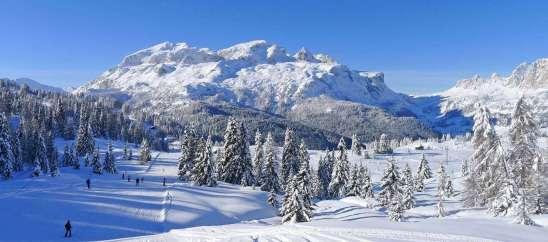 Italie Alta Badia winterpistes