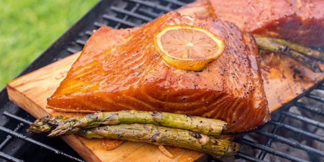Recette Saumon - Barbecue