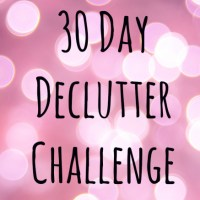January Declutter Challenge - 30 days, 465 items!