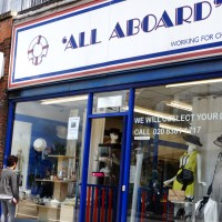 All Aboard Charity Shop - Finchley Road Review