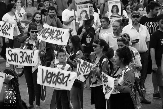 El 24 de marzo en Rafaela. Foto: Hermanos Gramaglia.