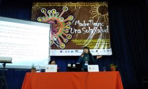 Silvia Ribeiro en el Encuentro Intercontinental Madre Tierra Una Sola Salud.