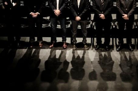 """Santa Fe , noviembre de 2016. Cumbre de """"Mercociudades"""", en la foto: el Gobernador Miguel Lifschitz, el intendente José Corral, el jefe de gobierno de la ciudad de Buenos Aires Horacio Rodríguez Larreta. Autor: Mauricio Centurión."""
