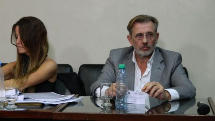 El ex presidente de Colón en una de las audiencias judiciales realizadas en 2017 por la causa relacionada con los desmanejos de Colón. Foto: Gentileza Diario Uno.