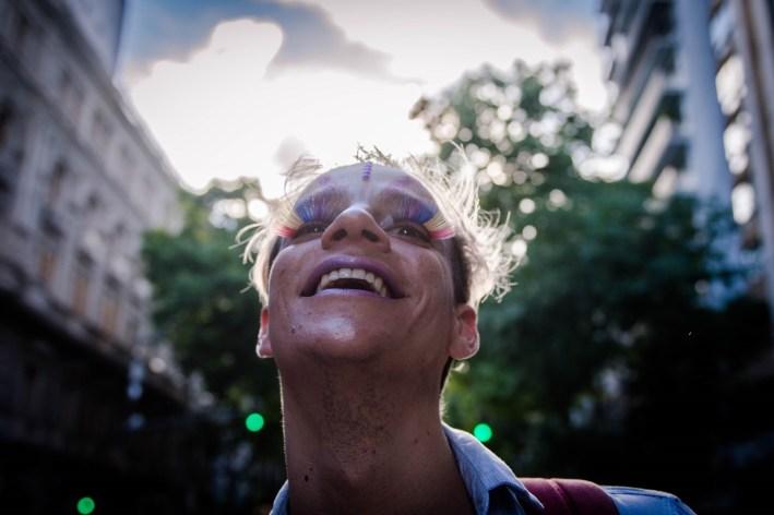 Desde Buenos Aires, en la vigésimoséptima Marcha del Orgullo, un fotorreportaje de Mauricio Centurión.