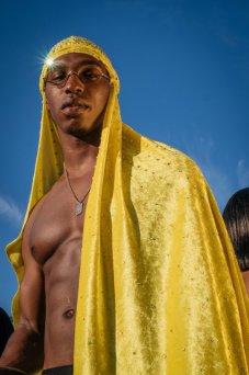 Cada año, en todo el mundo, los creativos negros se unen para asistir a Afropunk, un festival de música que une a personas de la diáspora africana para celebrar y defender la negritud en todas sus expresiones, pasadas y presentes. Nueva York. Foto: Melissa Bunni Elian.