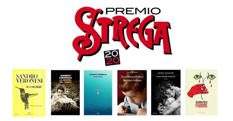 Immagine romanzi finalisti Premio Strega 2020