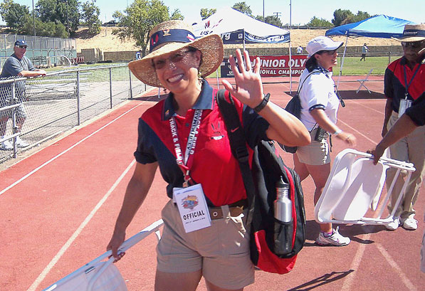 Irene Herman, PA/USATF Official