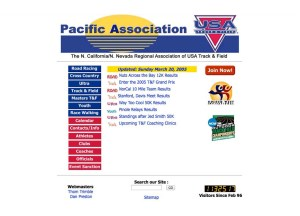 2005 pausatf.org Front Page