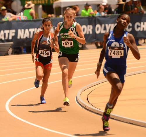 2016 JO Kyra Pretre13-14 Girls 800m Trials