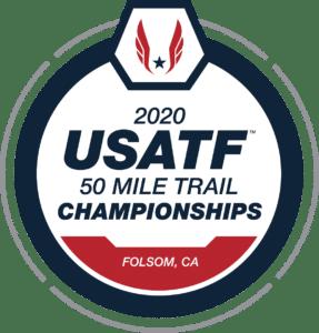 2020 usatf national 50 mile trail championship logo