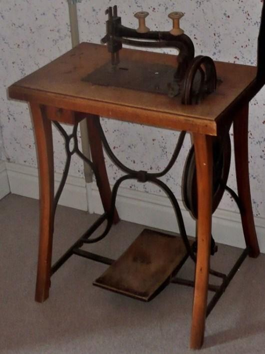 Anders Olof Anderssons symaskin från 1870-talet