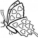 desene de sfantul valentin_fluturas